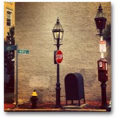 Plakat - New england in Boston City