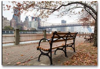 Plakat - New York - Roosevelt Island