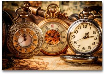 Plakat - Vintage pocket watch