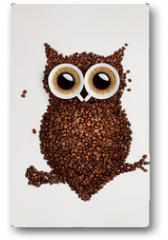 Plakat - Coffee owl.