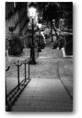 Plakat - Escalier de Montmartre