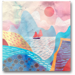 Plakat - water landscape