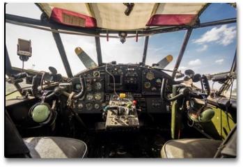 Plakat - cockpit