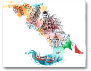 Plakat - Italy