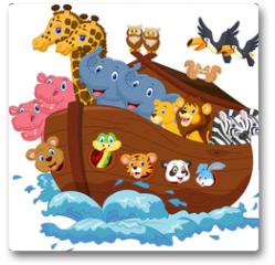 Plakat - Noah's Ark cartoon