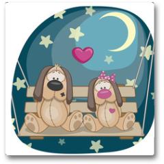Plakat - Lovers Dogs