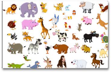 Plakat - big animal set for you design