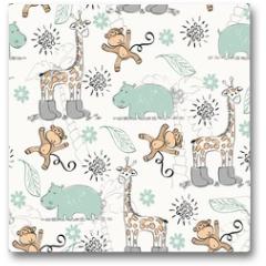 Plakat - seamless pattern
