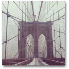 Plakat - Brooklynbridge, NYC, USA