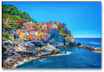 Plakat - Beautiful colorful cityscape