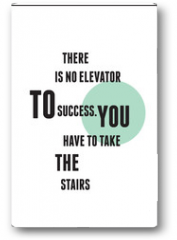 Plakat - Quote typography for Inspirational