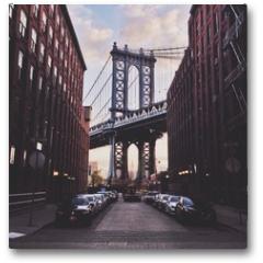 Plakat - Manhattan bridge