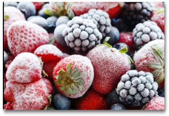 Plakat - frozen berries