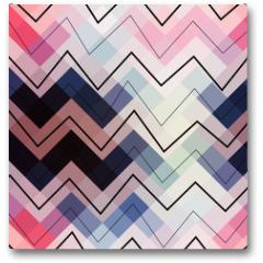 Plakat - Geometric chevron pattern.
