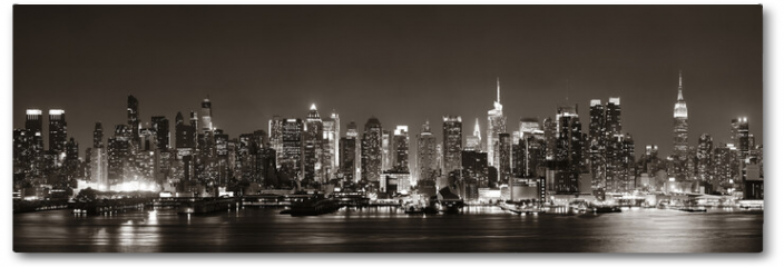 Plakat - Midtown Manhattan skyline