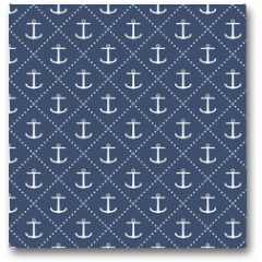 Plakat - Anchor seamless pattern