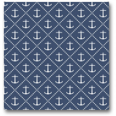 Plakat - Anchor seamless pattern