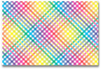 Plakat - 壁紙背景素材(多数の虹色小球体の放射, 虹, 虹色, 七色, レインボー, )