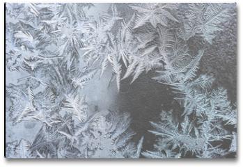 Plakat - pattern on frozen window
