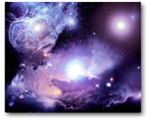 Plakat - Fantasy Space Nebula