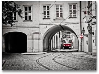 Plakat - Red tram