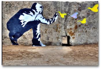 Plakat - Graffiti liberté