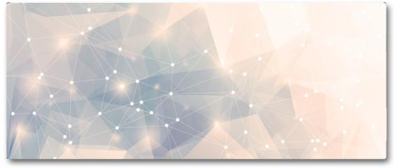 Plakat - Polygon Panorama