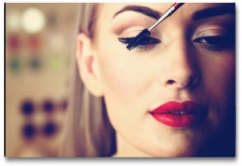 Plakat - makeup