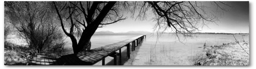 Plakat - Chiemsee .. stille Inspiration