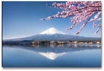 Plakat - Berg Fuji in Kawaguchiko Japan