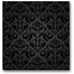 Plakat - Damask Seamless Vector Pattern