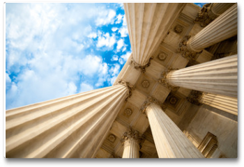Plakat - Columns at the U.S. Supreme Court
