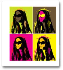 Plakat - Rastaman