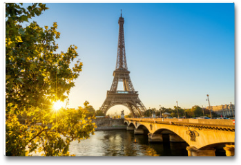 Plakat - Paris Eiffelturm Eiffeltower Tour Eiffel