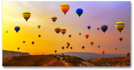 Plakat - balloons CappadociaTurkey.