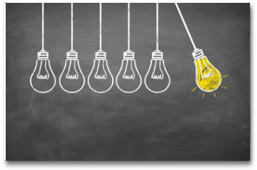 Plakat - Lampen / Idee / Konzept