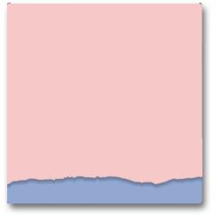 Plakat - Rip paper. Rose quarts and serenity colors. Vector illustration.
