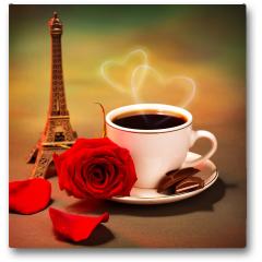 Plakat - Romantyczna wycieczka do Francji