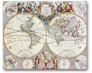 Plakat - Stara mapa