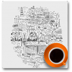 Plakat - Czas na kawę