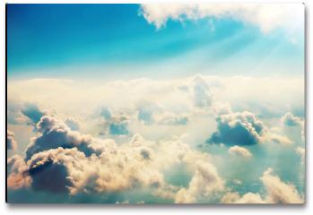Plakat - Chmury i niebo