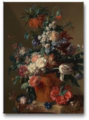 Plakat - Vase of flowers - Jan van Huysum
