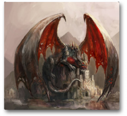 Plakat - Dragon castle