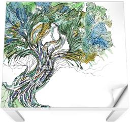 Naklejka na stół i biurko - Stare drzewo