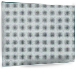 Panel szklany do kuchni - Seamless Polka dot background. Squared dots on white background for graphic design background texture pattern.