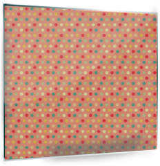 Panel szklany do kuchni - Texture of the old paper with retro geometric ornamental pattern