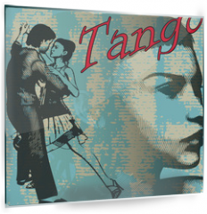 Panel szklany do kuchni - Tango Dance Background