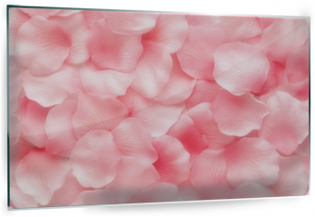 Panel szklany do kuchni - Beautiful delicate pink rose petals