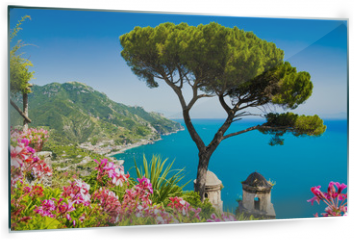 Panel szklany do kuchni - Postcard view of Amalfi Coast, Ravello, Campania, Italy