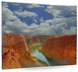 Panel szklany do kuchni - Water in the Beginning of the Grand Canyon